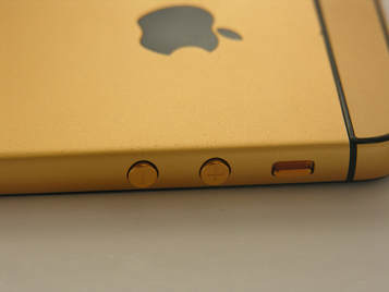iphone yellow gold