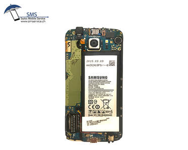 Samsung Galaxy S6 edge inside look, motherboard