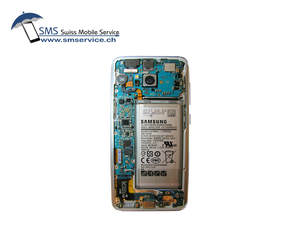 Samsung Galaxy S8 motherboard, inside look